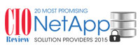 20 Most Promising NetApp Solution Providers - 2015