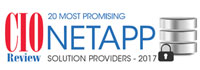 20 Most Promising NetApp Solution Providers - 2017